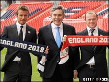 贝克汉姆、鲁尼和英国前首相布朗启动申世努力