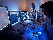 Microscopio de electrones