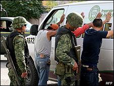 Detenciones en Ciudad Juárez