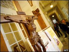 Crucifixo (arquivo - AFP)