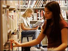 В библиотеке (архивное фото)