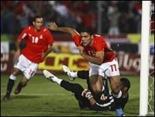 الجزائر بهدفين المباراة المؤهلة لتصفيات العالم