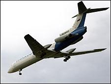 طائرة تجارية