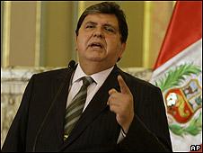 Presidente Alan Garcia