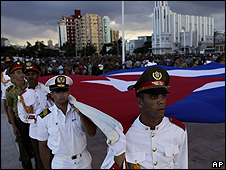 Acto oficial en La Habana