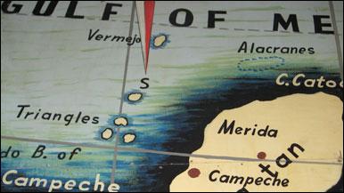 Imagen del Atlas Imperial de México de la Sociedad Mexicana de Geografía