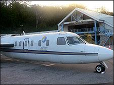 Avião semelhante ao que pousou no mar (Foto: Pel-Air Aviation/Divulgação)