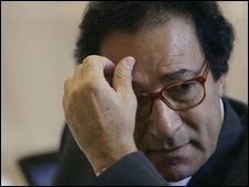 O egípcio Farouk Hosni