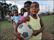 Niños sudafricanos