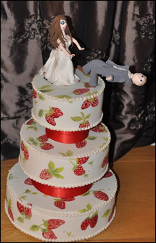Cortesia Pink Rose Cakes