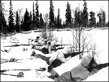Финские лыжники. Фото из архива Имперского военного музея в Лондоне