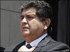 Presidente de Perú, Alan García