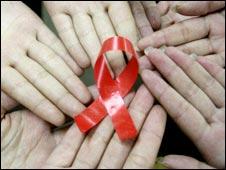 中國開展防範艾滋病宣傳活動
