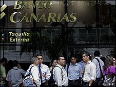 Banco Canarias, uno de los bancos que será liquidado en Venezuela.