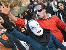 نمایشنامه خیابانی - عکس از فارس