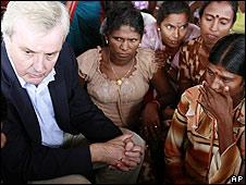 El subsecretario de Naciones Unidas para Asuntos Humanitarios, John Holmes