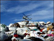 Ayuda al desarrollo tras el tsunami en el Índico, en 2004