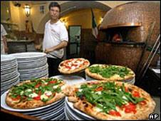 Pizza e pizzaiolo