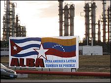 Refinerías en Cienfuegos, Cuba (Foto: Raquel Pérez)