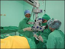 Cirugía de ojos (Foto: Raquel Pérez)