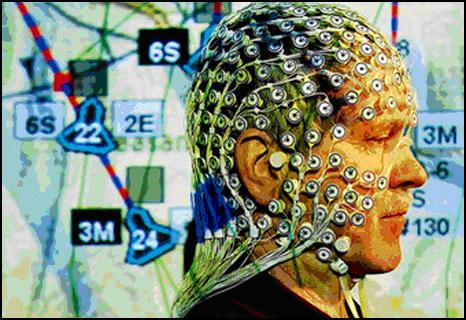 Шлем с датчиками