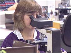 Investigación en un laboratorio