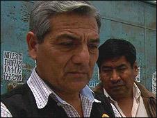 El coronel Ilidio Espinoza