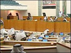 جلسة للبرلمان الكويتي