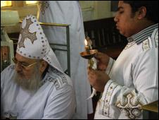 قداس للاقباط المصريين