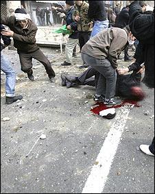 درگیریها در تهران