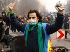 伊朗示威者