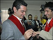 Alex Freyre ve Jose Maria di Bello