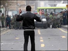 اعتراض های بعد از انتخابات سال گذشته در ایران