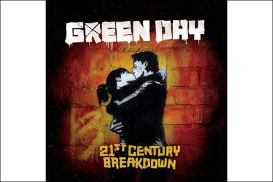 Álbum 21st Century Breakdown, de Green Day - Desenho e fotografia de Chris Bilheimer