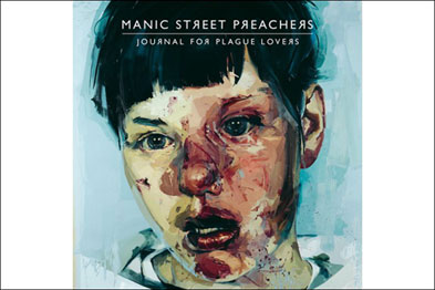 Álbum Journal for Plague Lovers, do Manic Street Preachers - Pintura original de Jenny Saville