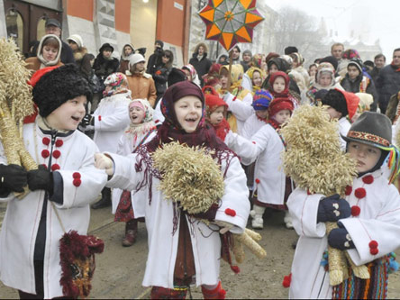 Ukrainian Christmas.Ukrainian Christmas Traditions