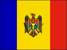 Флаг Молдовии