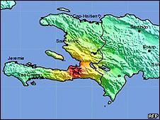 Imagen del Instituto Geológico de EE.UU.