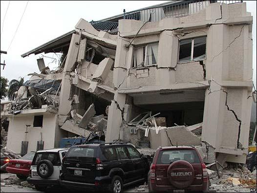 Edificio colapsado