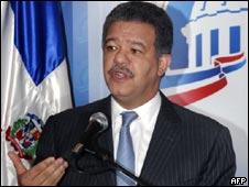 Leonel Fernández, presidente dominicano