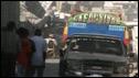 Camioneta en Puerto Príncipe