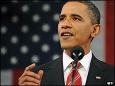 美國總統奧巴馬發表任內首份國情咨文(27/01/2010)