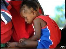 Orfã no Haiti