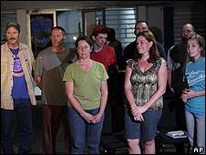 Laura Silsby junto a otros miembros del New Life Children's Refuge