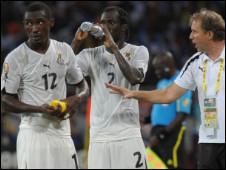 20 ألف دولار لكل لاعب من منتخب غانا لكرة القدم