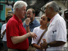 Clinton no Haiti