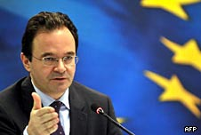 Greek Finance Minister, George Papakonstantinou