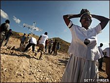 Misa en Haití en homenaje a las víctimas del terremoto