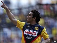 Salvador Cabañas, futbolista paraguayo