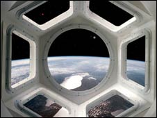 Vista desde la Cúpula (Gráfico: NASA)